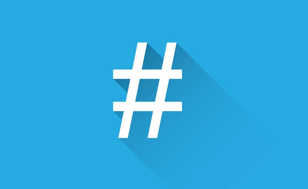 Hashtag em redes sociais