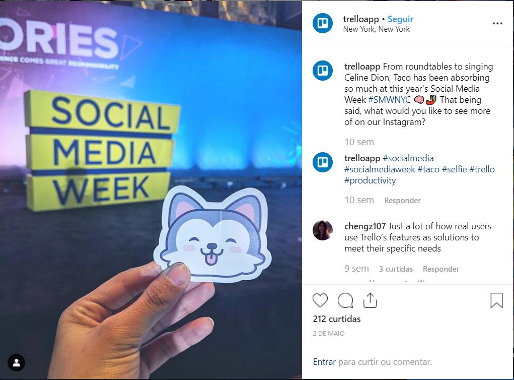 Exemplo de posts para mídias sociais para pequenas empresas