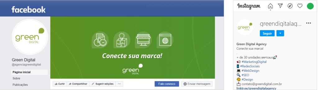Utilize a mesma imagem de perfil para melhorar as redes sociais da sua marca